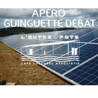Apéro guinguette débat à l'Entre2pots