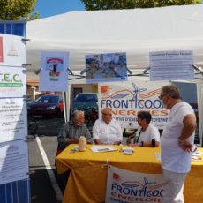 Fronticoop Energies à la journée des associations de Frontignan la Peyrade
